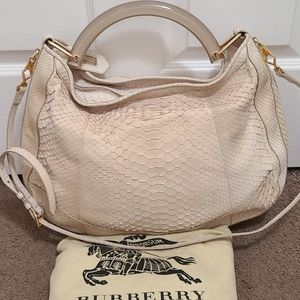 Burberry handbag Limited edition